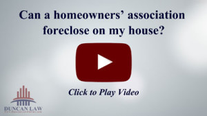 Can the Homeowners' Association (HOA) Foreclose If I Don't Pay My Dues?