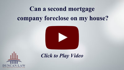 Can a Second Mortgage Company Foreclose on My Home?