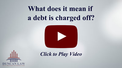 what does charge off mean on credit report